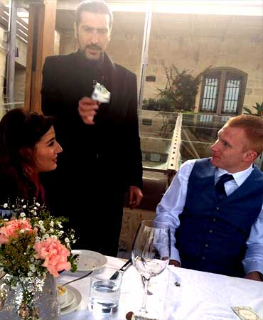 Wedding entertainment by magician Malta