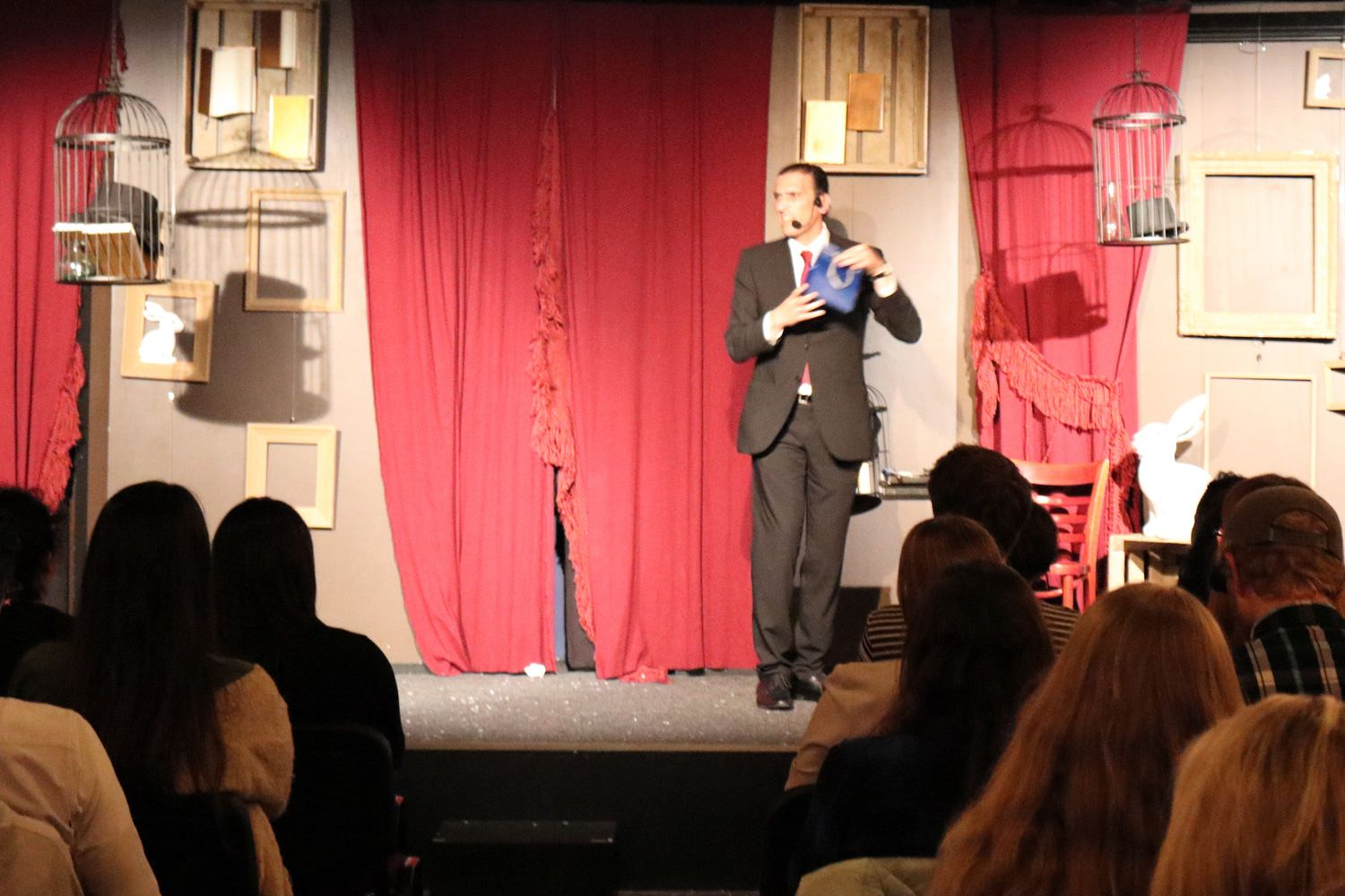 Magician Brian Role performs in Amsterdam at the Amsterdam Magic Show - Magician Malta